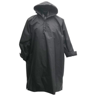 Waterproof Poncho with 5000ml waterproof nylon protection great for sports clubs and schools merchandise