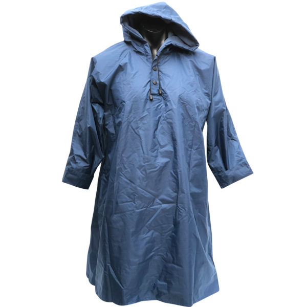 Waterproof ponchos with microfibre towelling